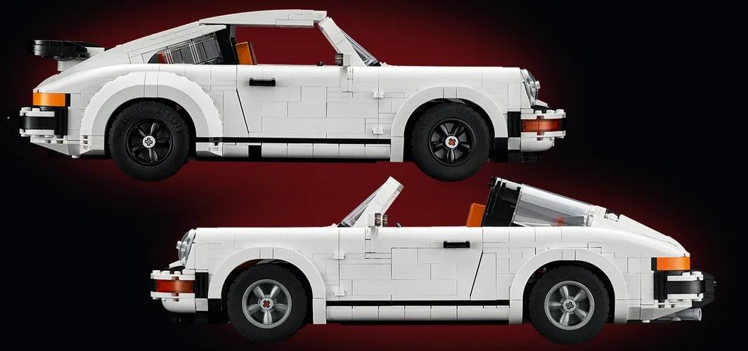 LEGO presenta su set del Porsche 911