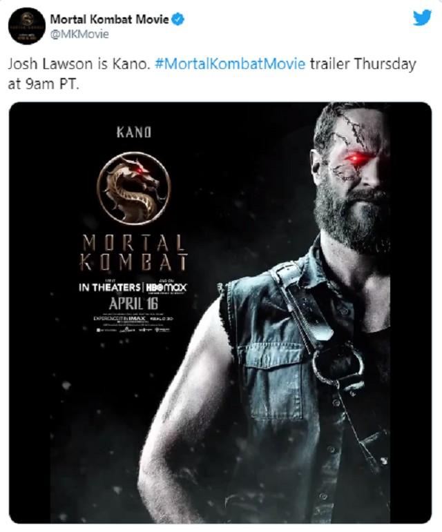 Mortal Kombat nuevo póster
