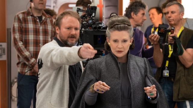 Rian Johnson Leia Organa