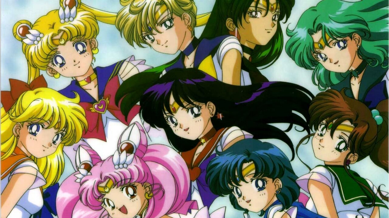 sailor moon edad sailor scouts