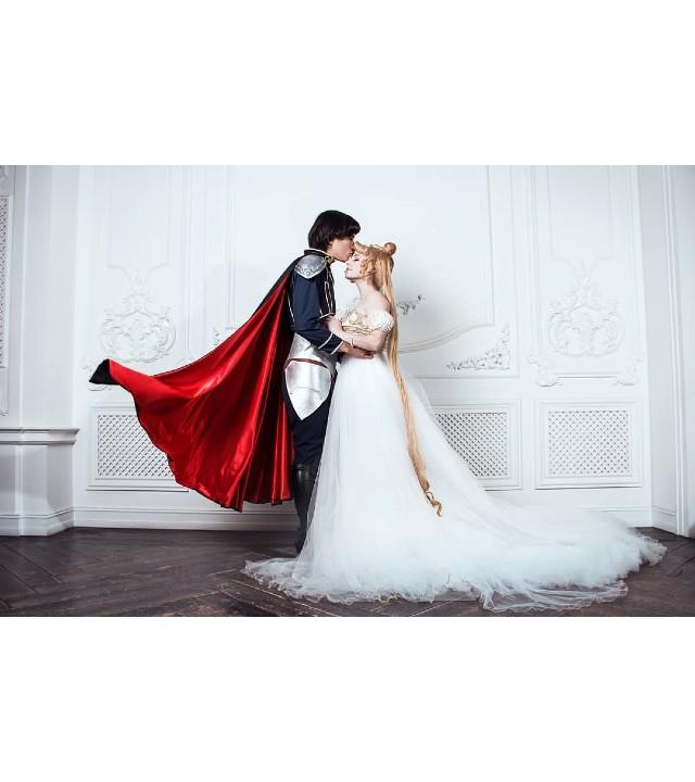 Sailor Moon_ La princesa Serenity y el príncipe Endymion se reúnen gracias a un romántico cosplay (1)