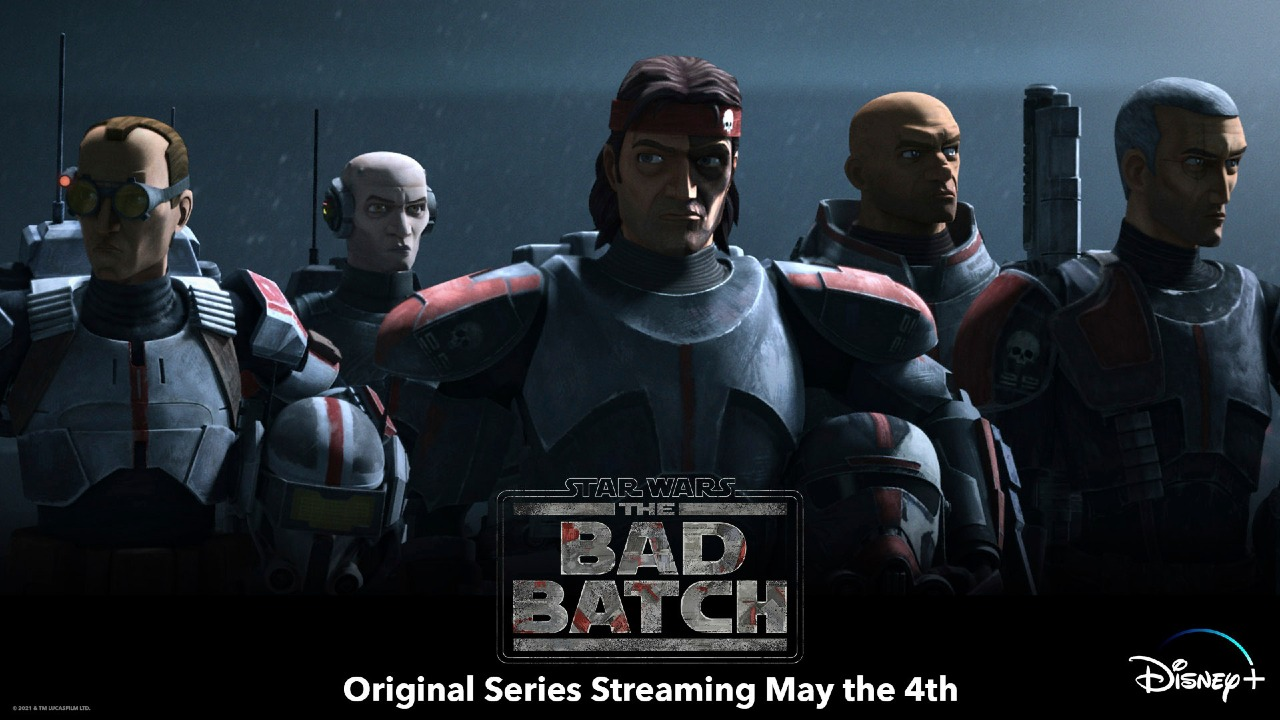 Star Wars: The Bad Batch ya tiene echa de estreno en Disney+
