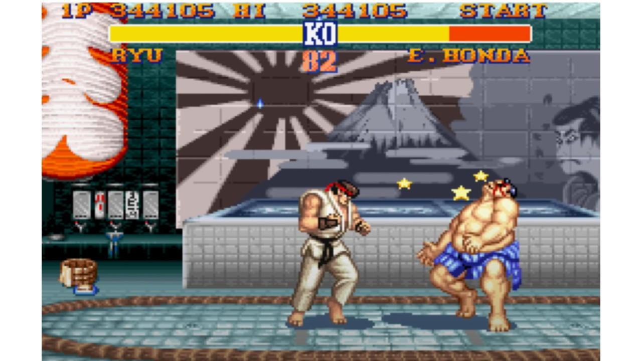 Street Fighter II: ¿Por qué quitaron el sol naciente del juego?