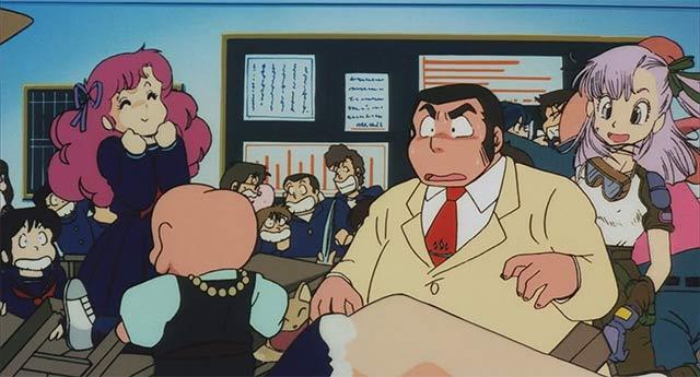 Bulma hace un cameo en Urusei Yatsura 3: Recuerdo de mi amor
