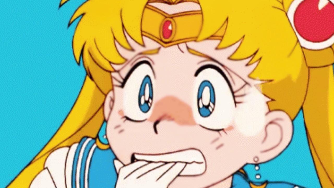 Artista imagina una escena donde Sailor Moon pierde la cabeza de manera divertida
