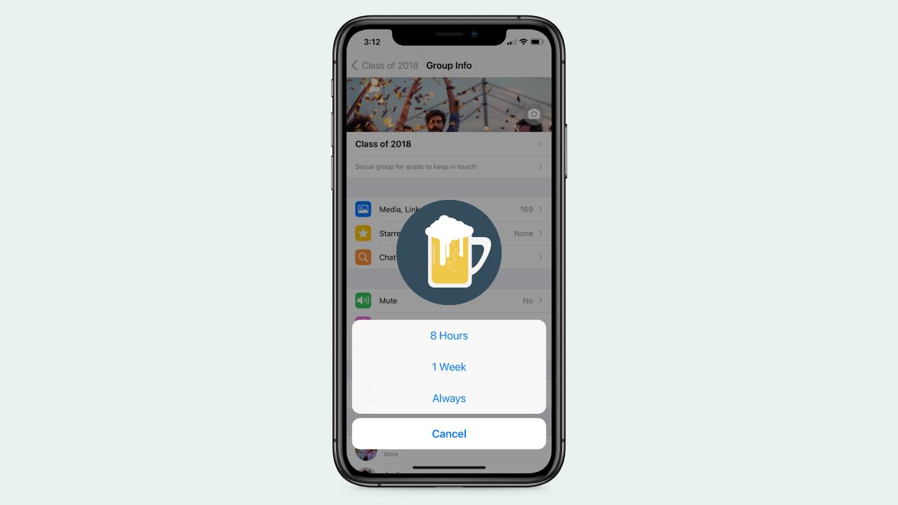 WhatsApp podría tener un modo borracho
