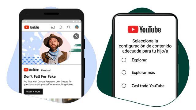 YouTube agrega funciones de seguridad para familias