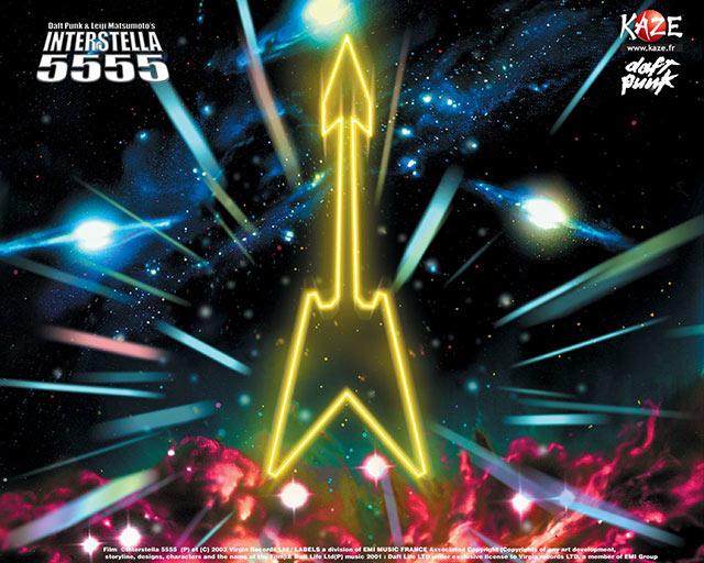 Recordamos cuando Daft Punk se unió a Toei Animation para traer a la vida a Interstella 5555, inspirada en el Capitán Harlock
