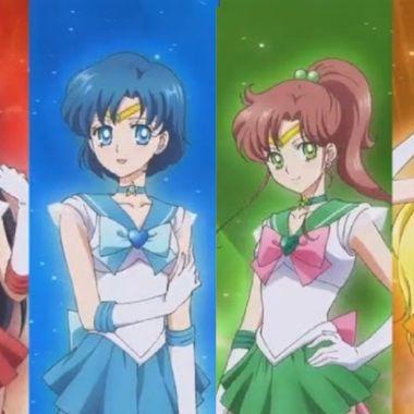 Sailor Moon: Artista retrata a las Sailor Scouts con un interesante estilo pin-up