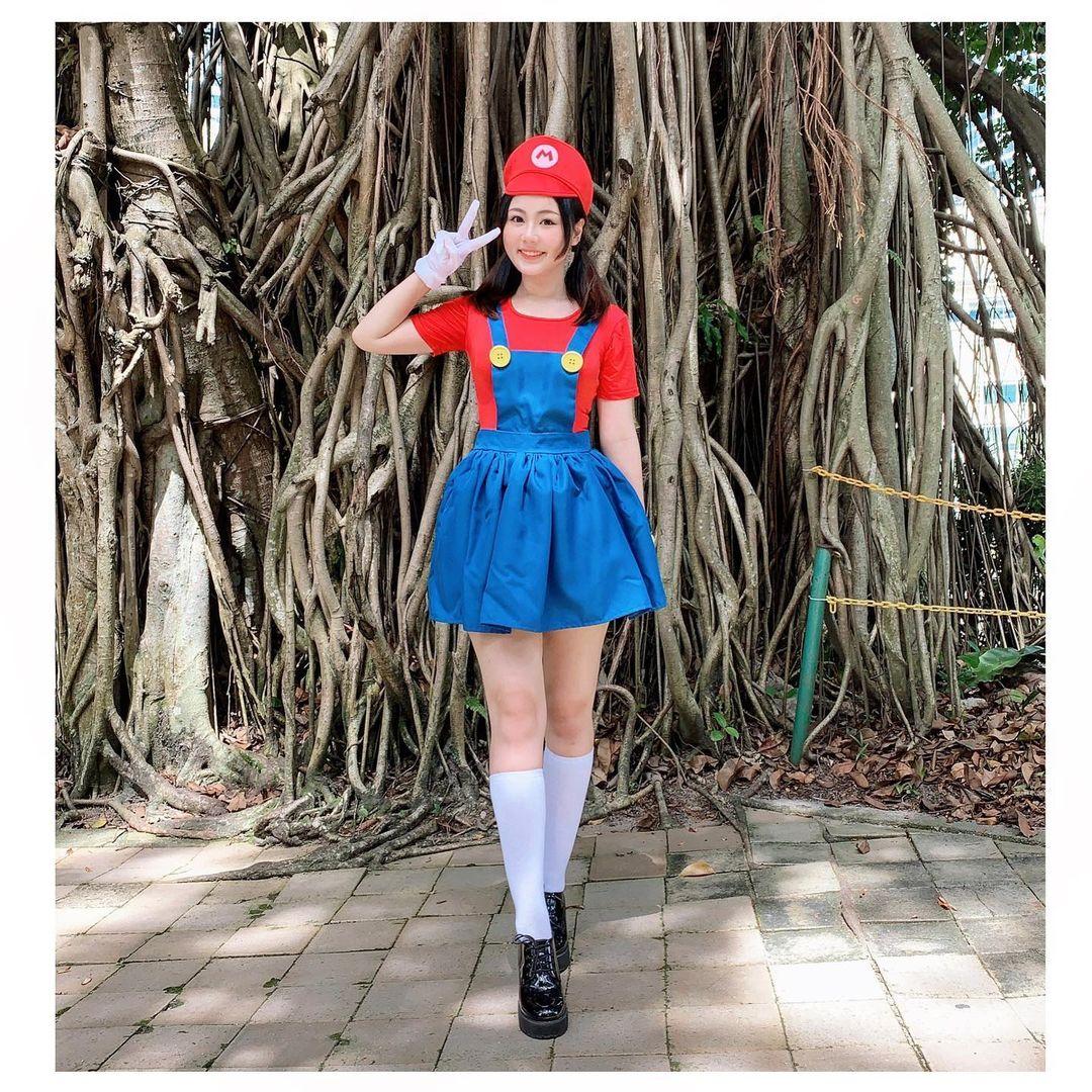 Cosplay Mujer Super Mqrio Bros Nintendo
