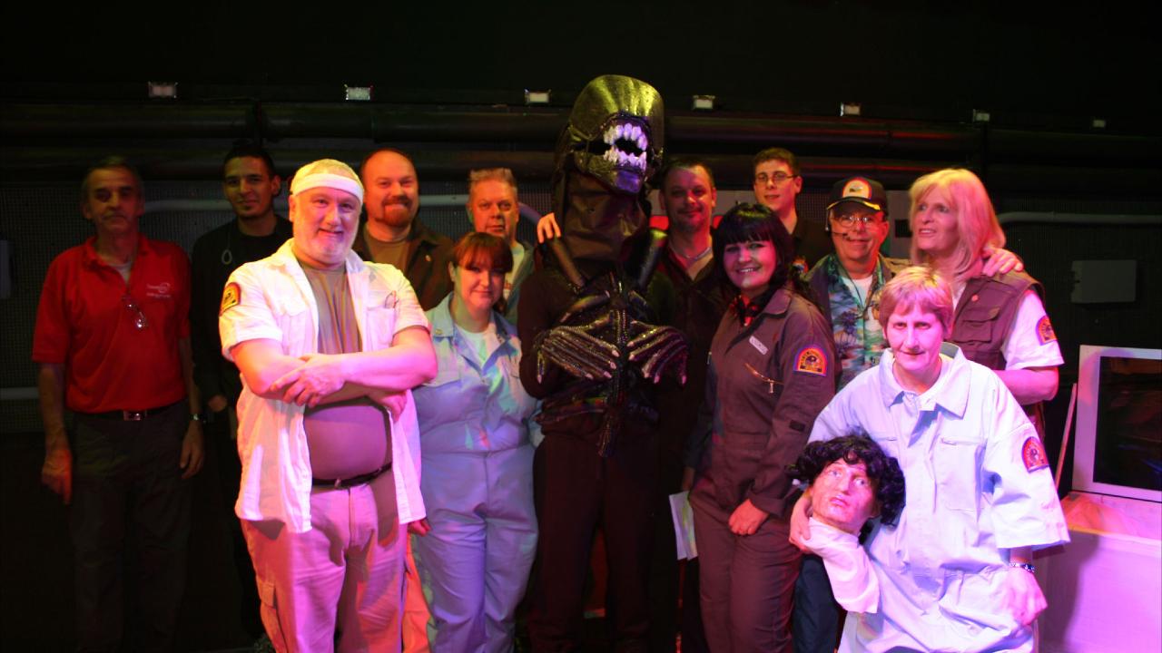 Documental de obra de teatro de Alien