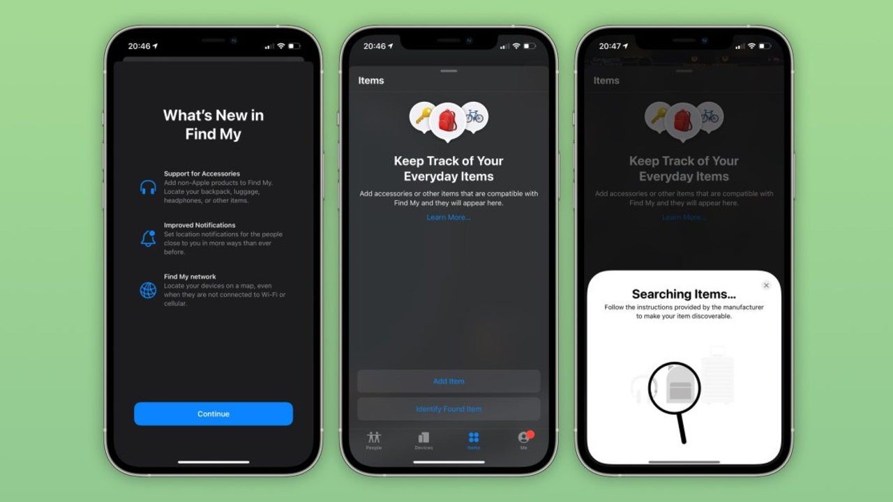 Apple prepara la llegada de los AirTags con la beta de iOS 14.5