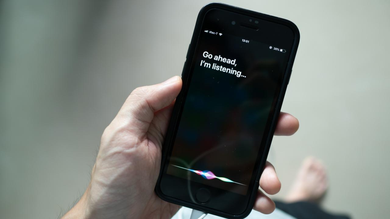 Apple actualización iOS cambio voces Siri