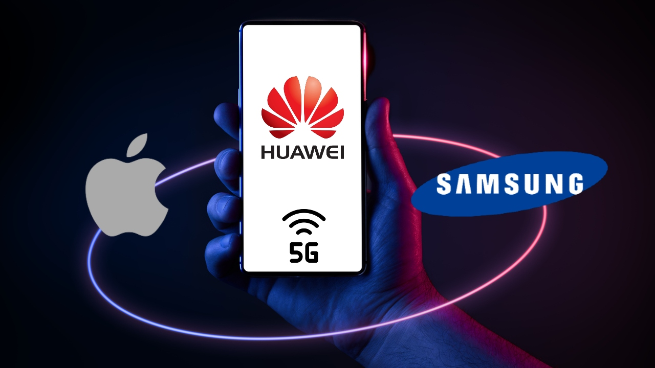 Huawei Apple Samsung cobrará tecnología 5G