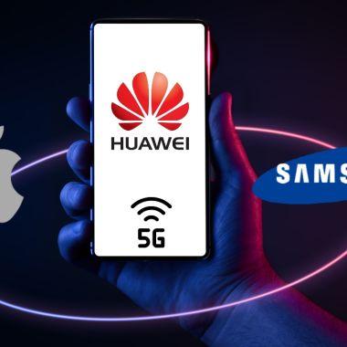 Huawei Apple Samsung cobrará tecnología 5G