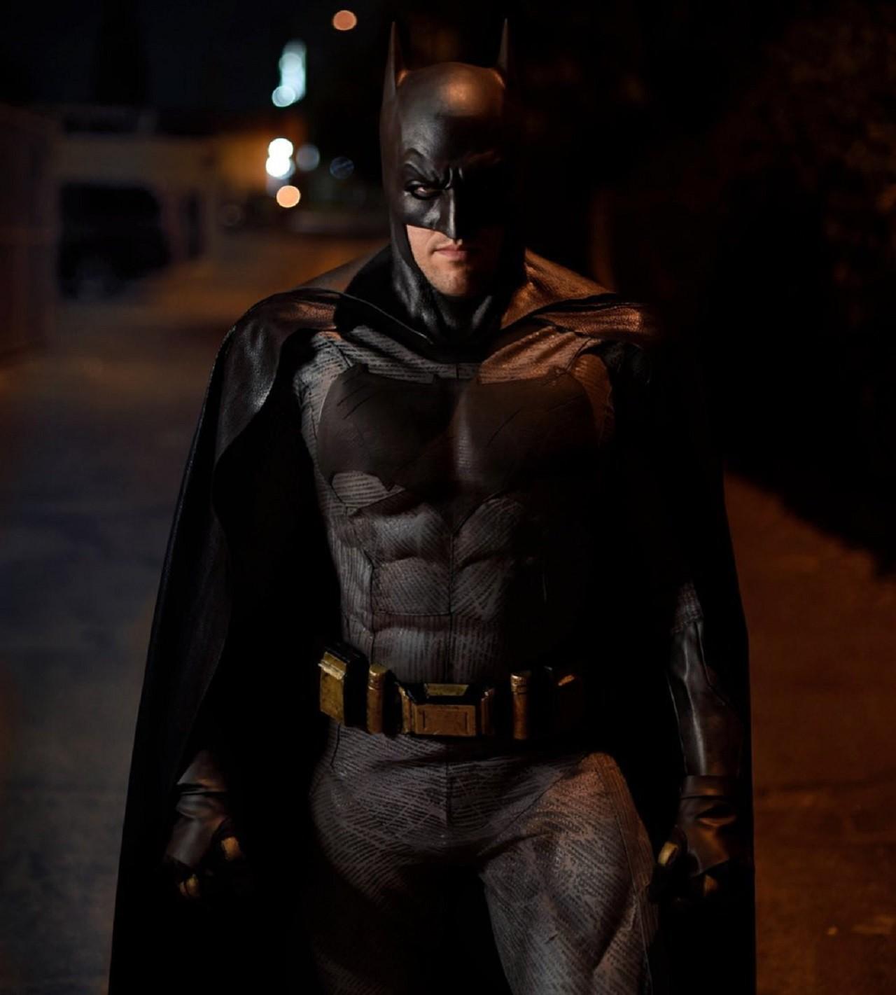 Cosplay Batman Ben Affleck DC Comics