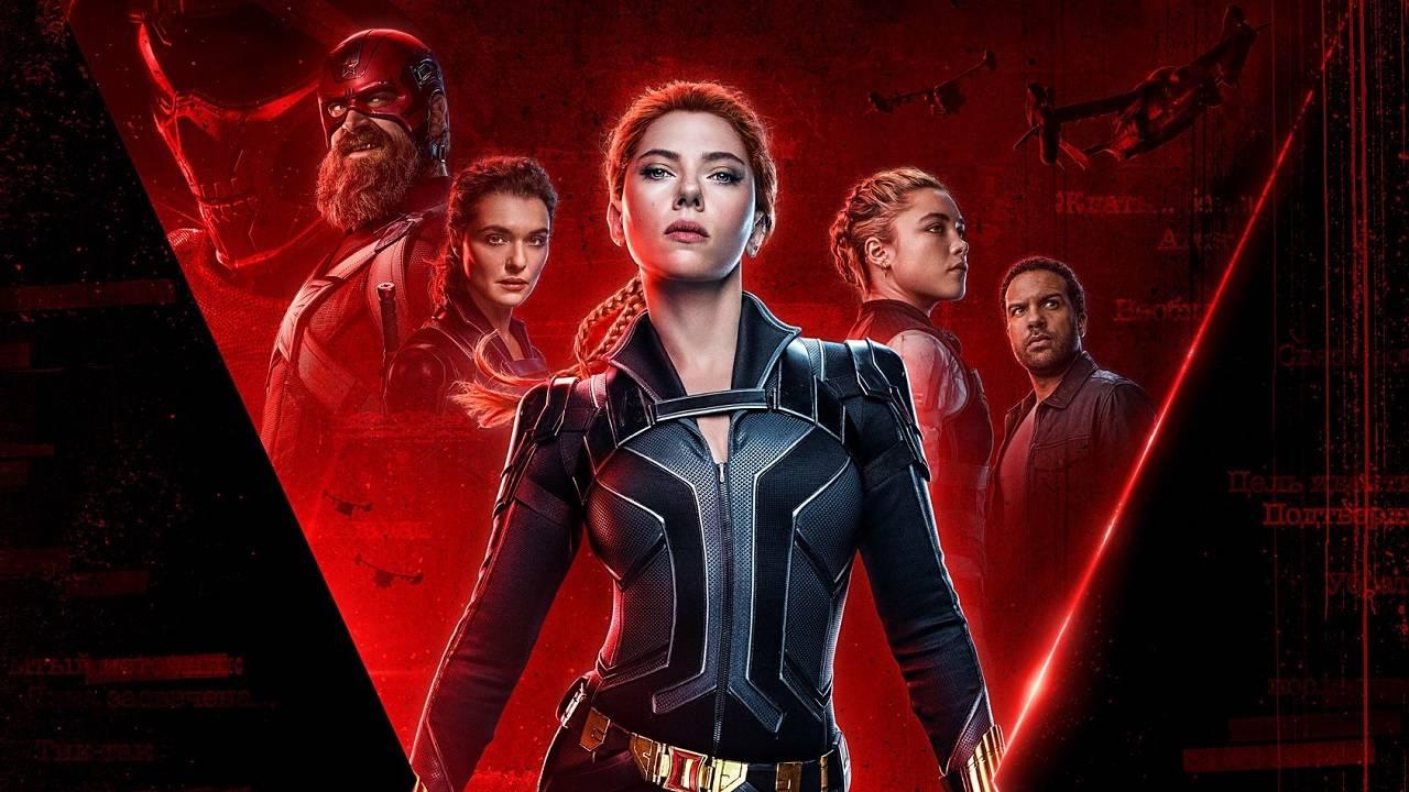 Black Widow póster película Marvel