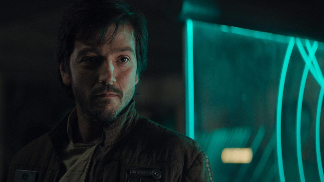 Diego Luna como Cassian Andor en Star Wars