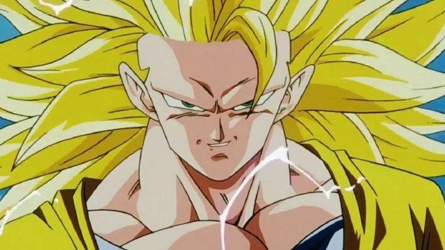 Dragon Ball Cosplay Goku Super Saiyajin 3 Anime