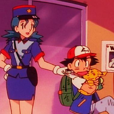 Oficial Jenny y Ash en Pokémon