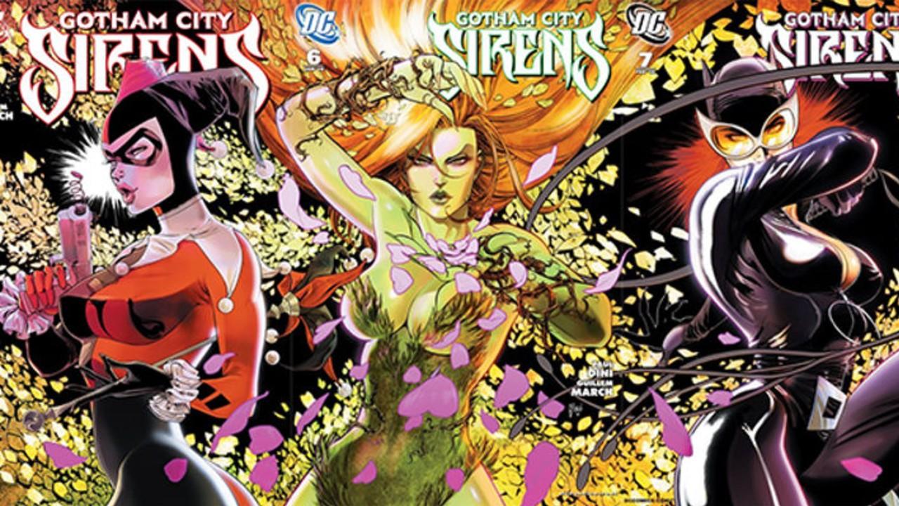 DC Comics: Fan Art le da vida al famoso grupo de villanas Gotham City Sirens