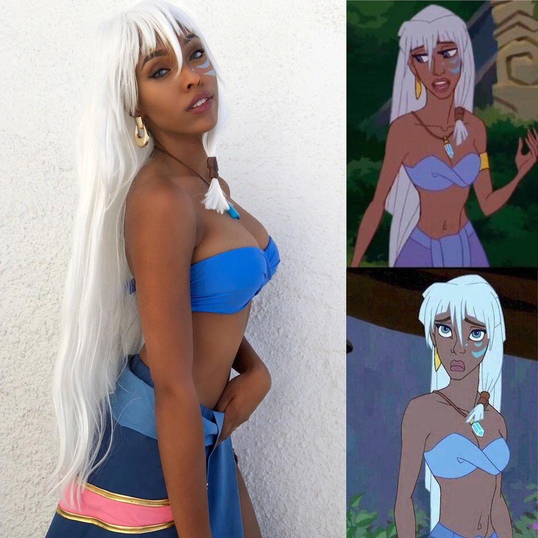 Disney: Chica representa a Kida de manera impresionante con este cosplay