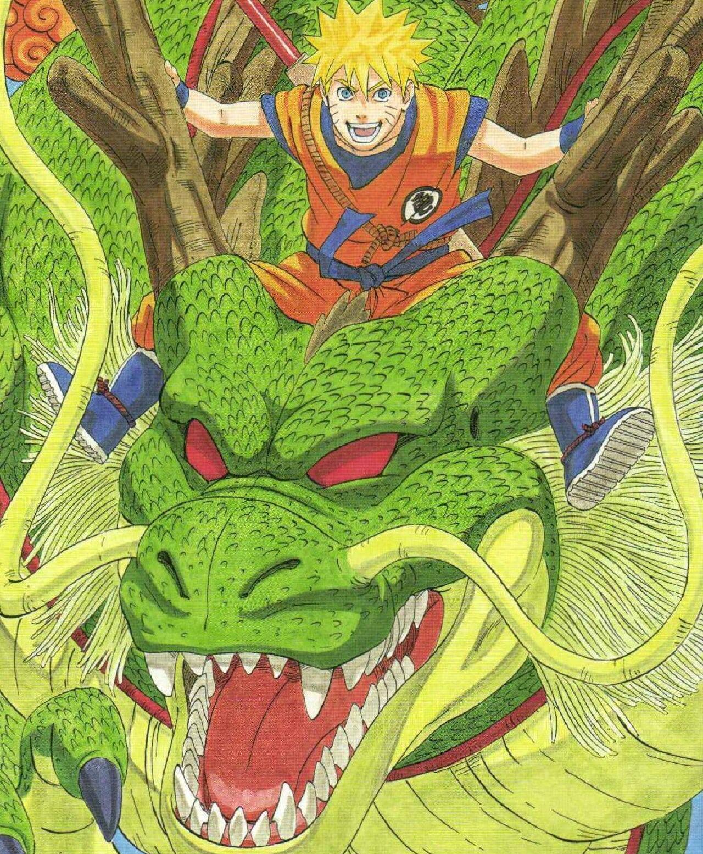 dragon ball naruto tributo akira toriyama