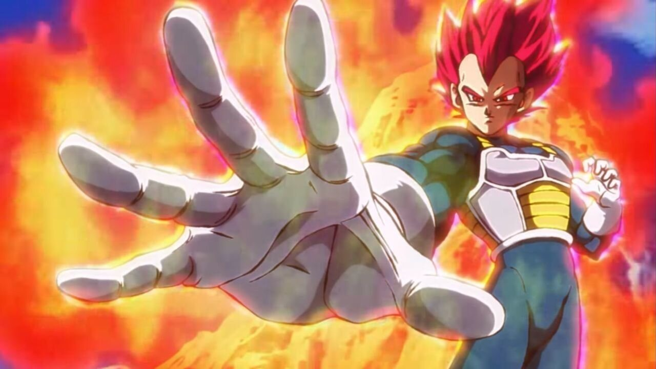 vegeta super saiyajin dios dragon ball