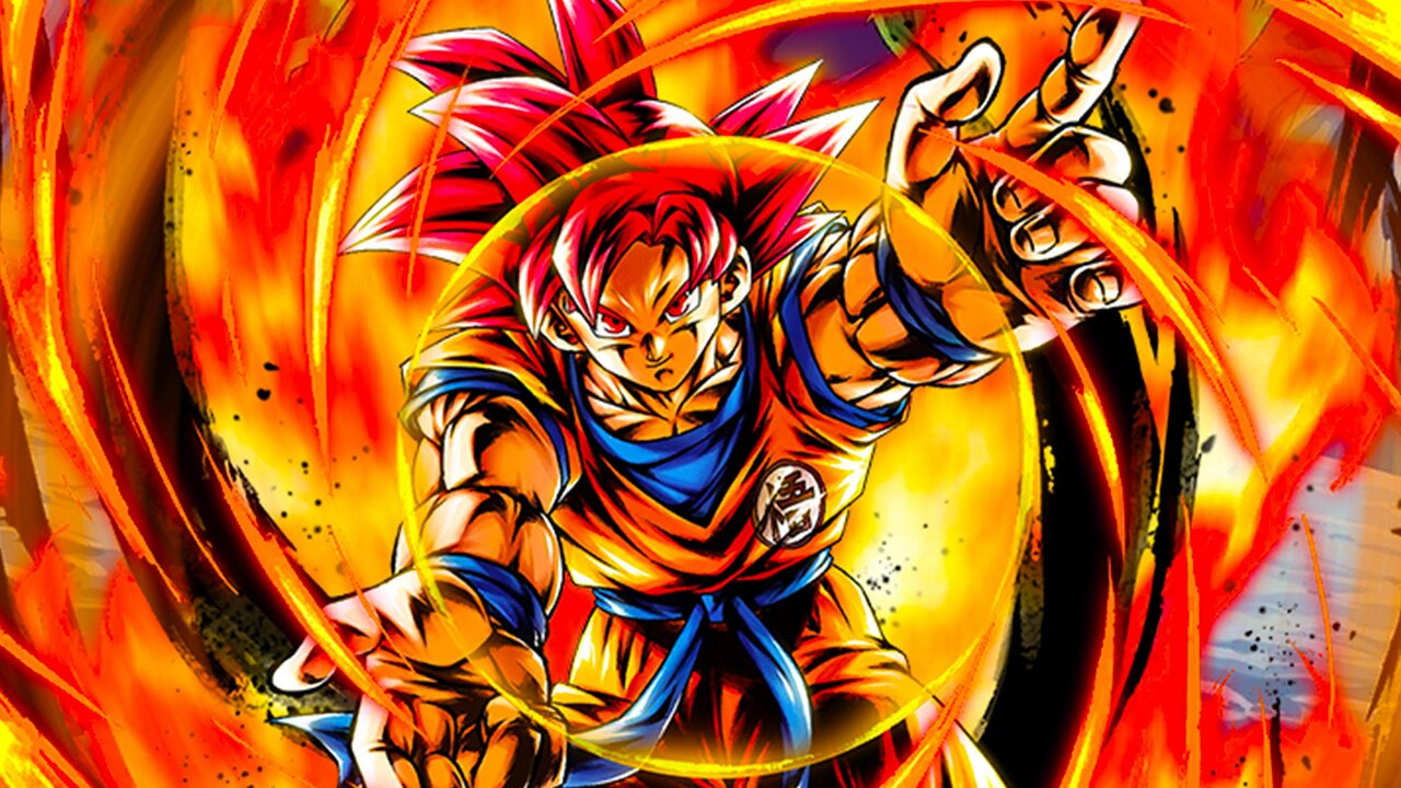 dragon ball goku super saiyajin dios