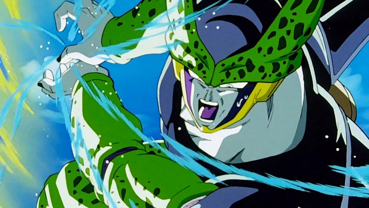 cell perfecto androide dragon ball
