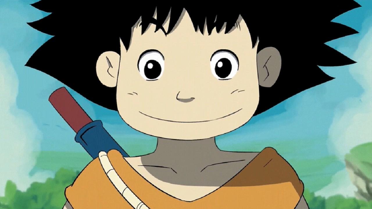 Goku Estilo Animación Studio Ghbli Anime Dragon Ball