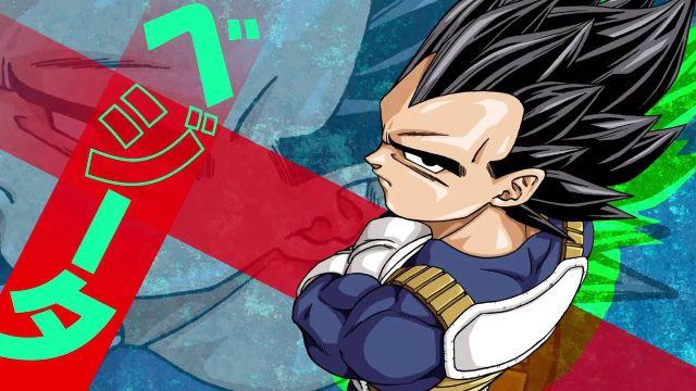 Vegeta Dragon Ball Super 70 Hakai