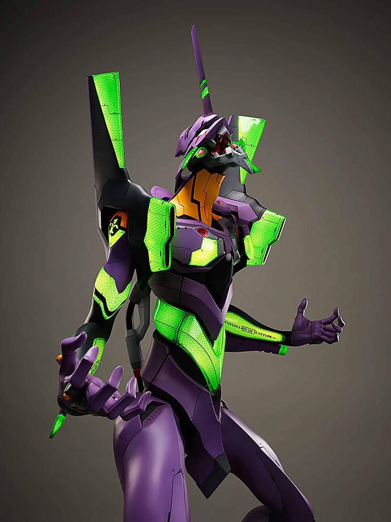 Estatua Gigante de la Unidad 01 de Evangelion