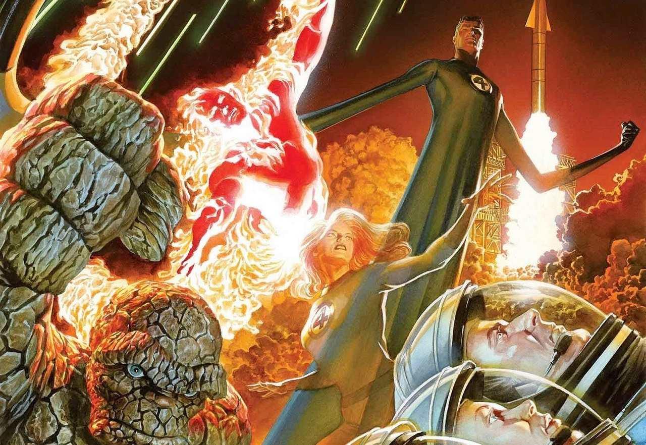 Fantastic Four Marvel Película MC