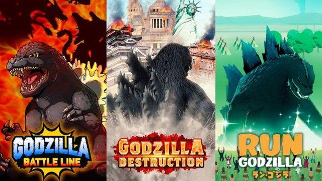 Godzilla Vidoejuegos Android iOS Teléfonos Móviles