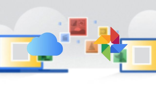 Google Fotos importar archivos iCloud