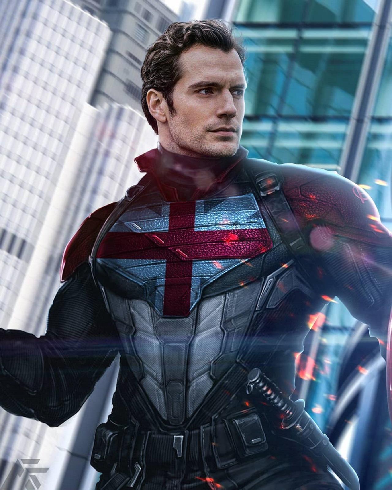 Marvel insiste en ver a Henry Cavill como Captain Britain