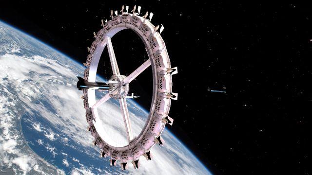 El primer hotel espacial abrirá en 2027