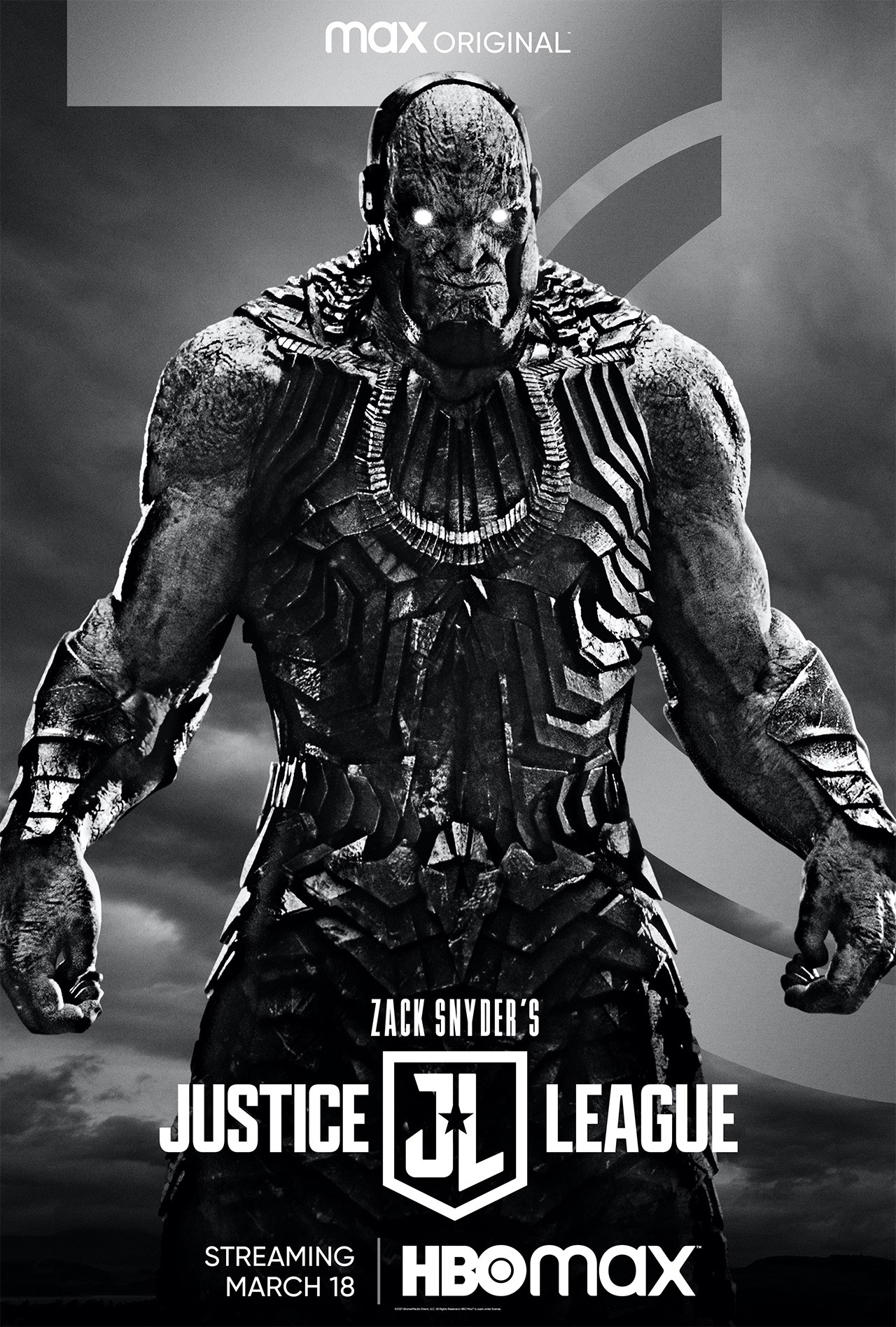 Póster Darkseid JUstice League Snyder Cut