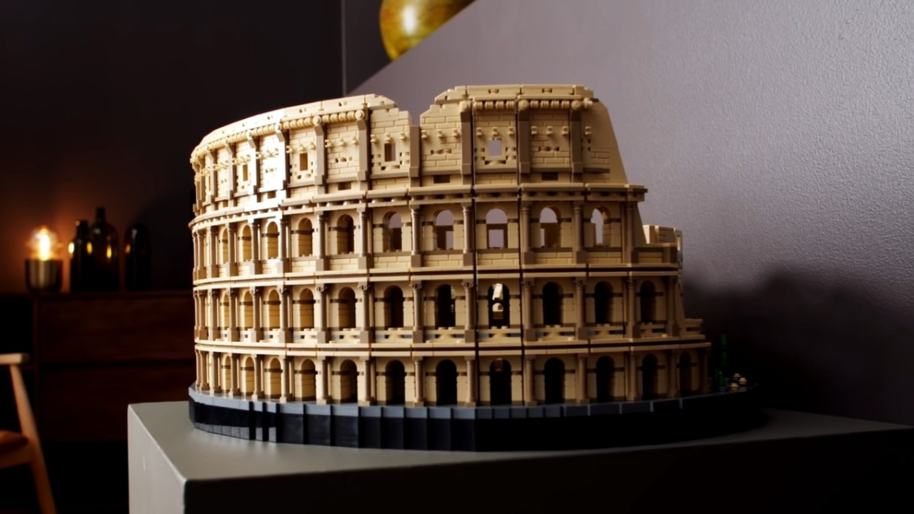 LEGO set Coliseo romano más grande récord Guinness
