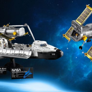 LEGO set NASA Discovery Hubble adultos