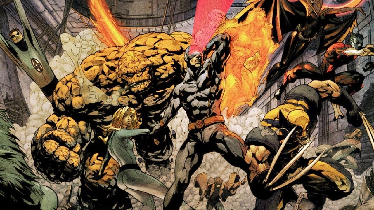 X-Men Fantastic Four MCU Marvel Películas