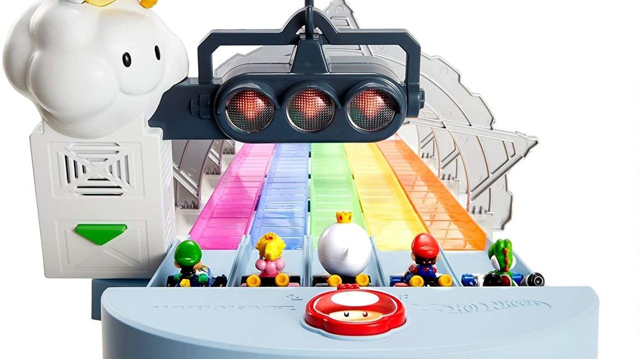 Mario Kart Rainbow Road Hot Wheels Mattel