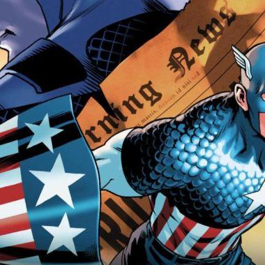 Marvel nuevo Capitán América personaje abiertamente gay