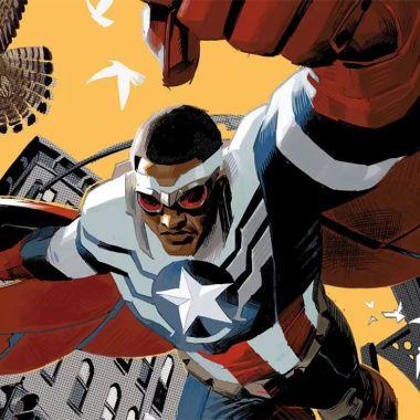 Marvel Falcon cosplay Capitán América