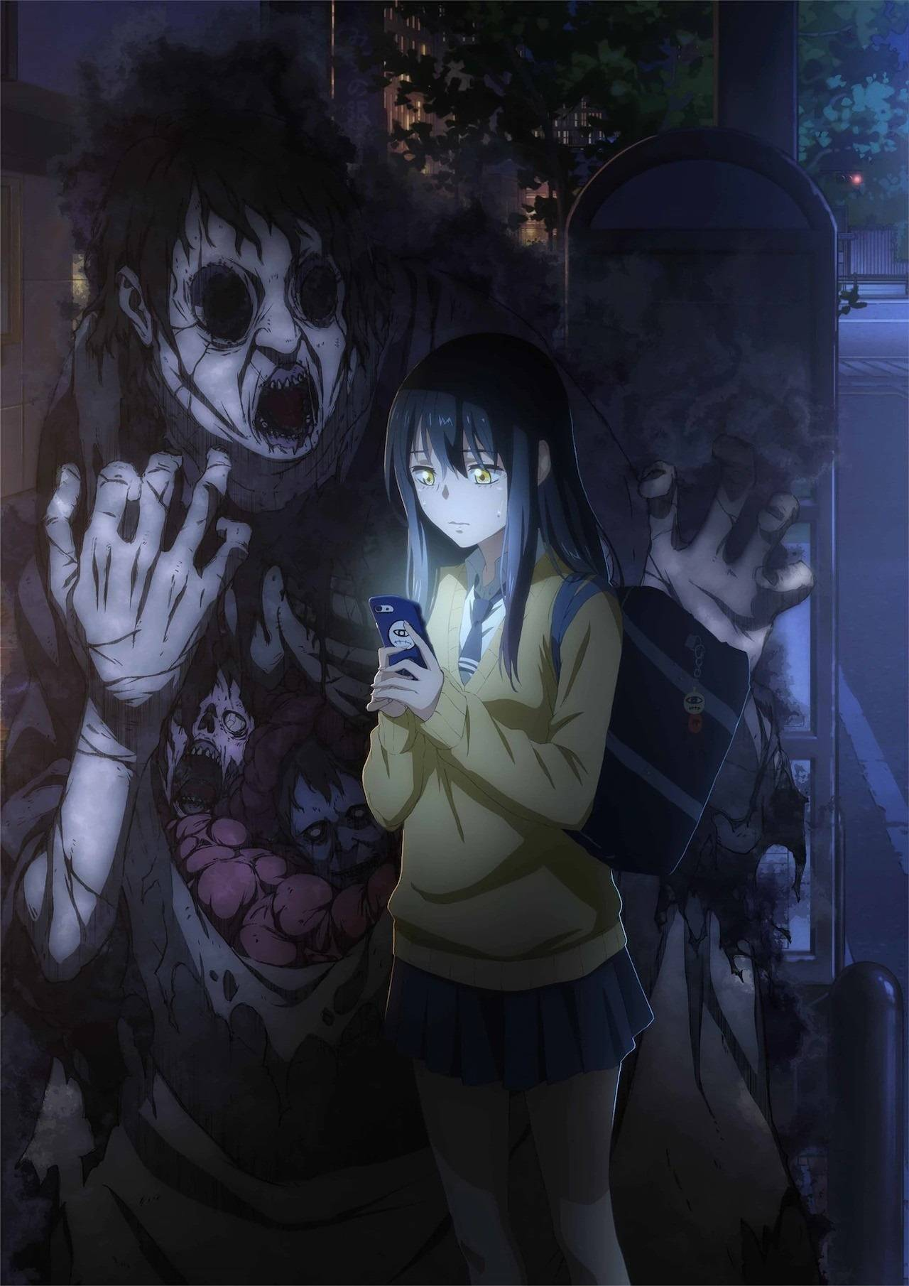 Anime de Terror Mieruko Chan Tomoki Izumi