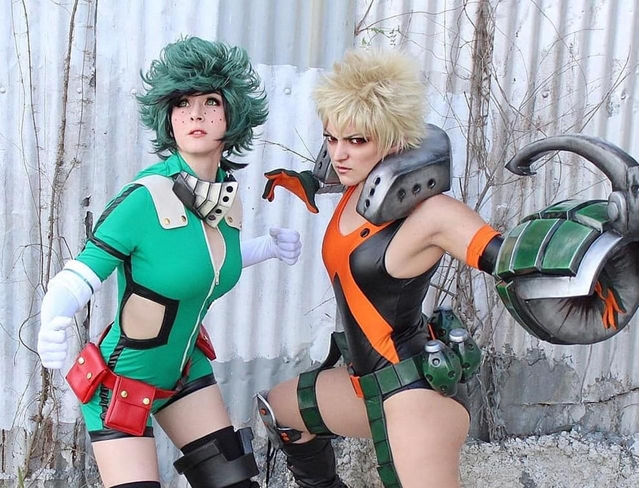 My Hero Academia_ Chicas sacan el lado más femenino de Deku y Baku con estos impresionantes cosplays (2)