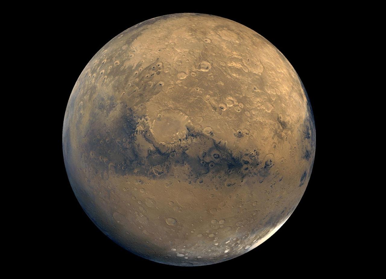NASA estudio agua Marte atrapada corteza