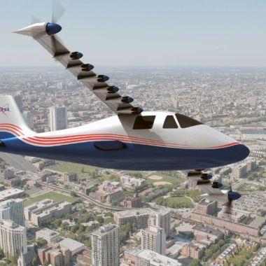 NASA prueba su avión eléctrico