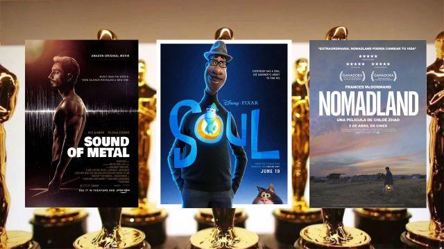 Oscar 2021 películas Nominadas Dónde Netflix amazon prime viedeo